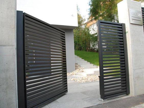 Designzaun Magnus Super Zaunde Garden Modern Fence Driveway