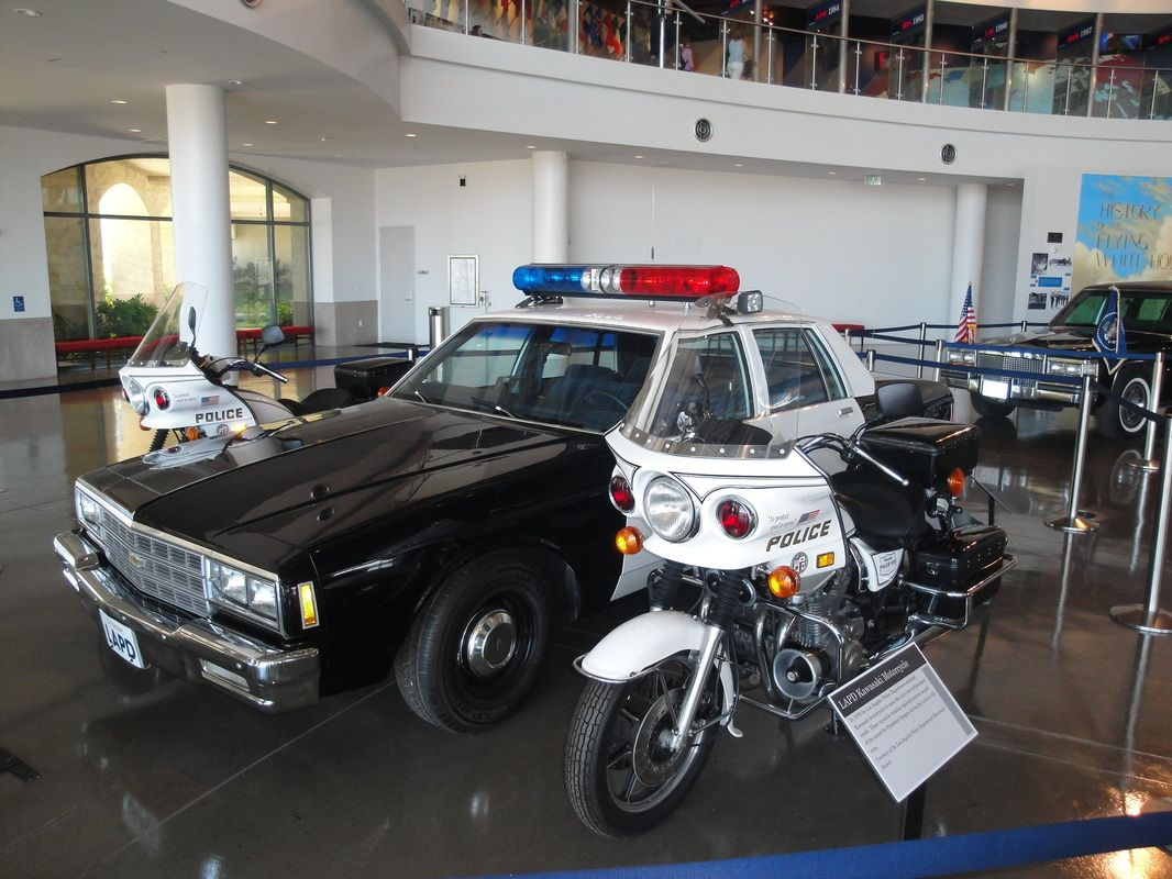Lapd The Museum Police Cars Old Police Cars Lapd
