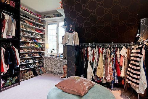 I want everything in this closet
