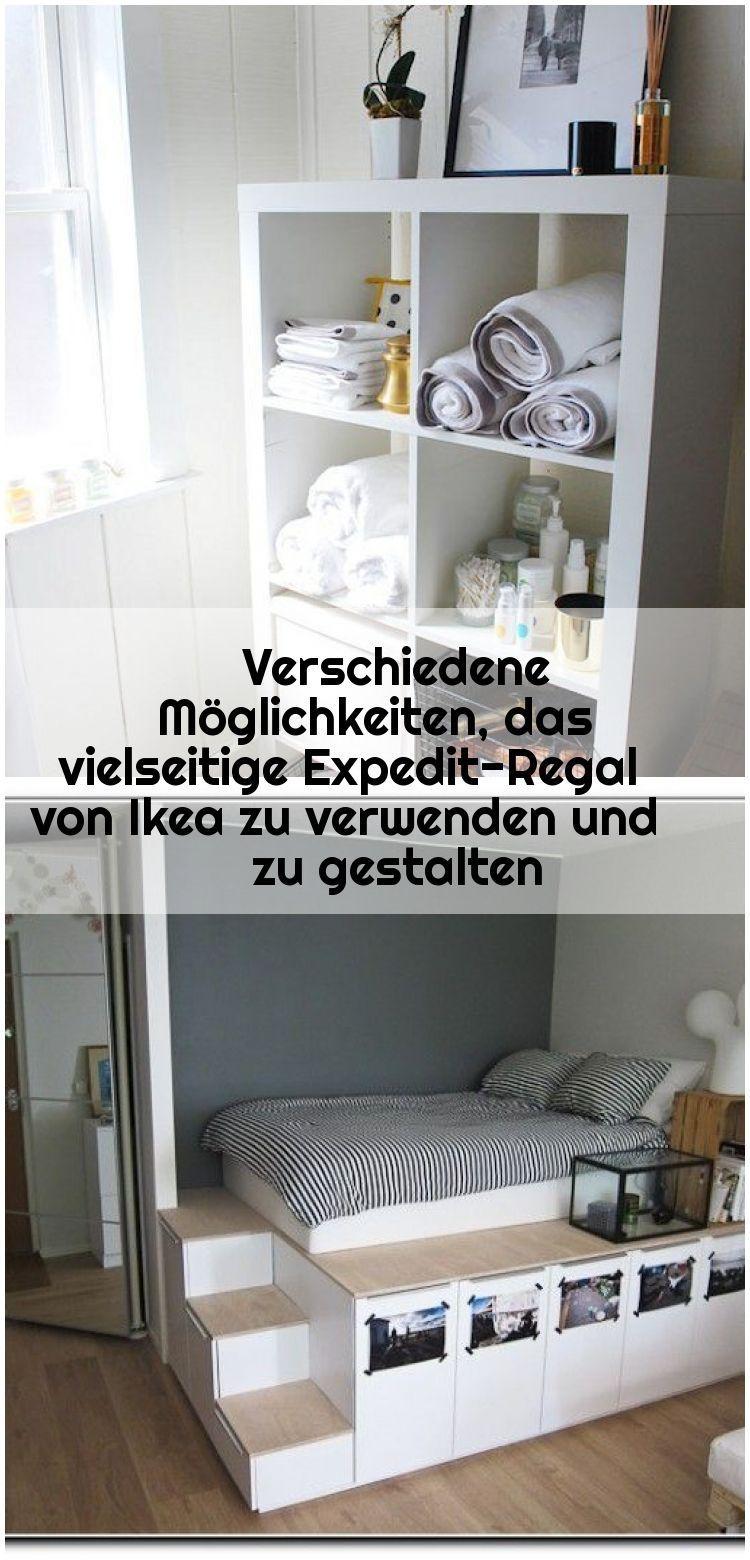 Verschiedene Moglichkeiten Das Vielseitige Expedit Regal Von Ikea Zu Verwenden Und Zu Gestal Ikea Hack Storage Ikea Hack Ikea