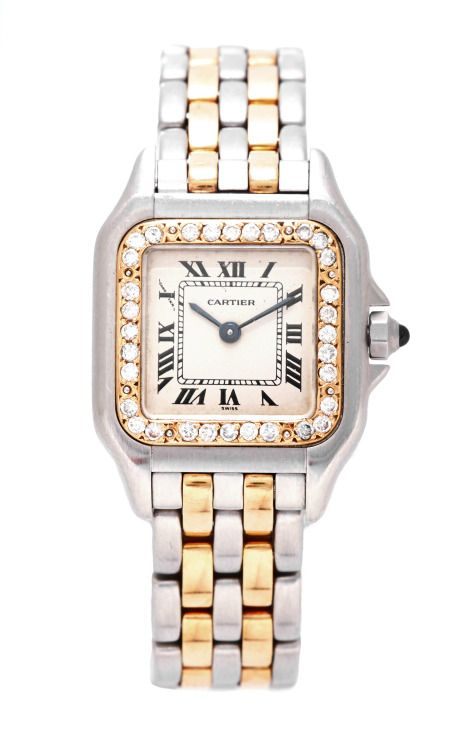 d2e364221b1 Vintage Cartier 18K And Stainless Steel