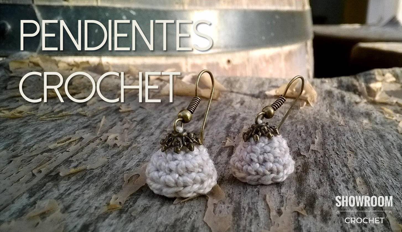 Tutorial Pendientes de crochet | TUTORIALES BISUTERÍA | Pinterest ...