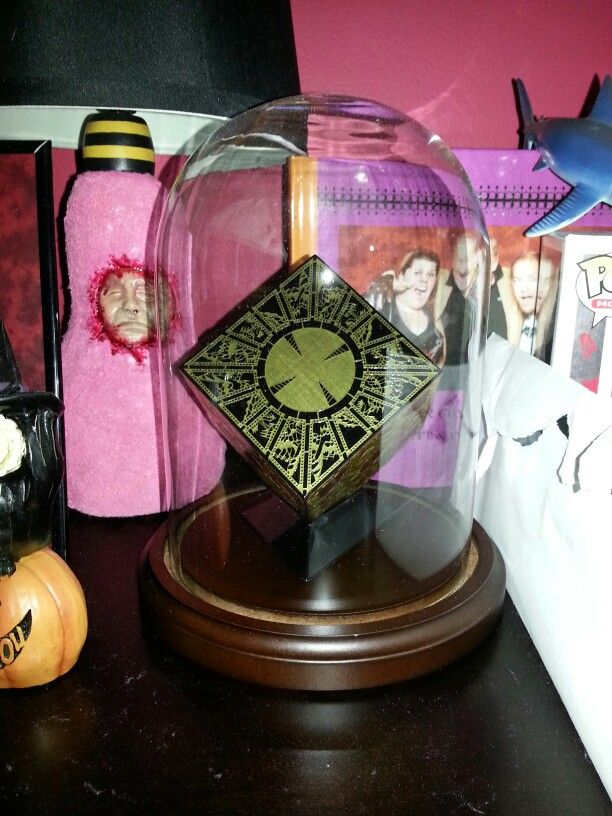 Hellraiser Puzzlebox   Horror movie collection, Table ...