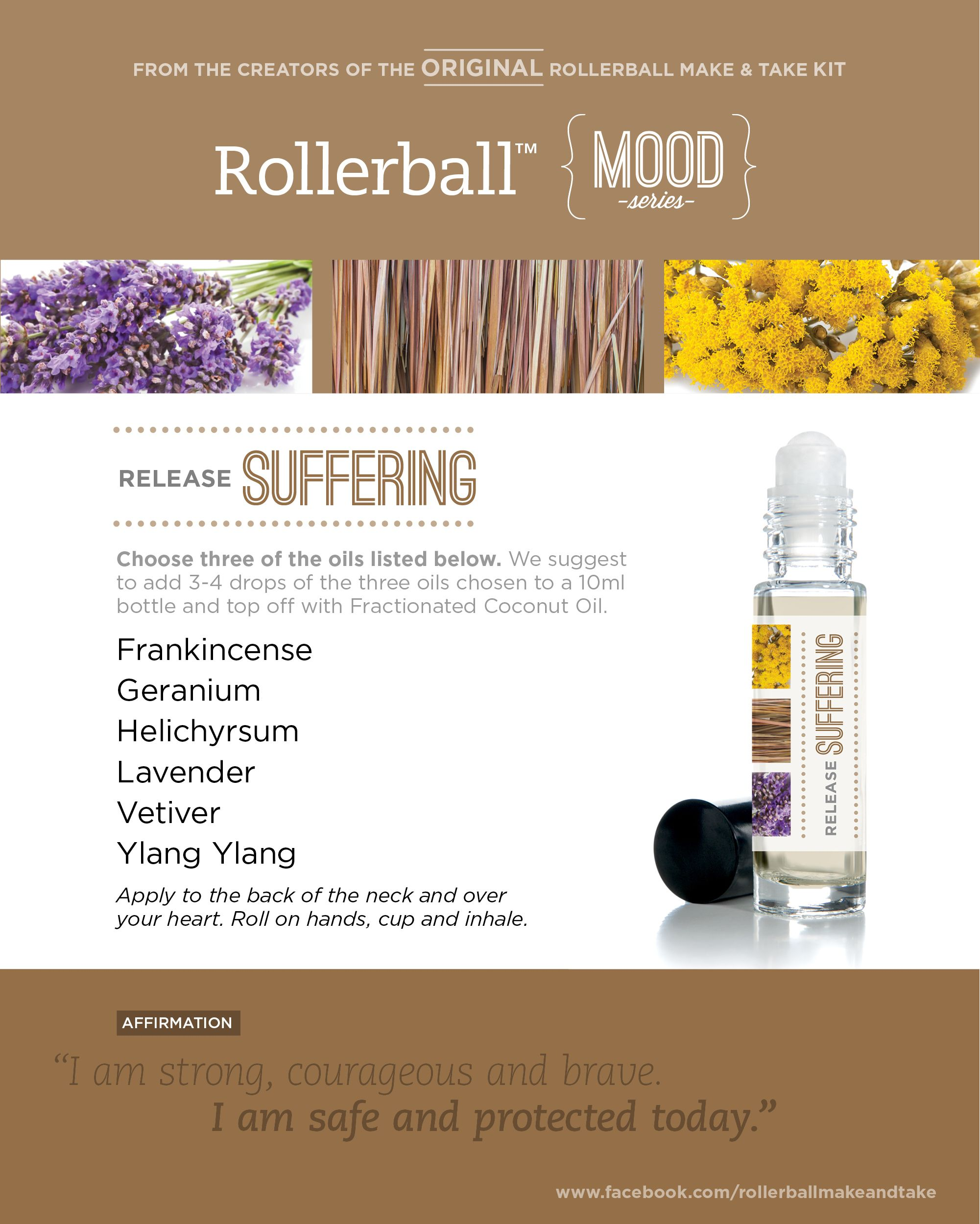 Release Suffering Rollerball Mood Series Make Amp Take