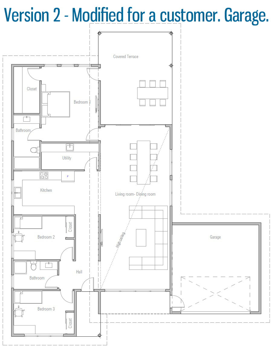 Modified Home Plan House Plans Building Plans House How To Plan