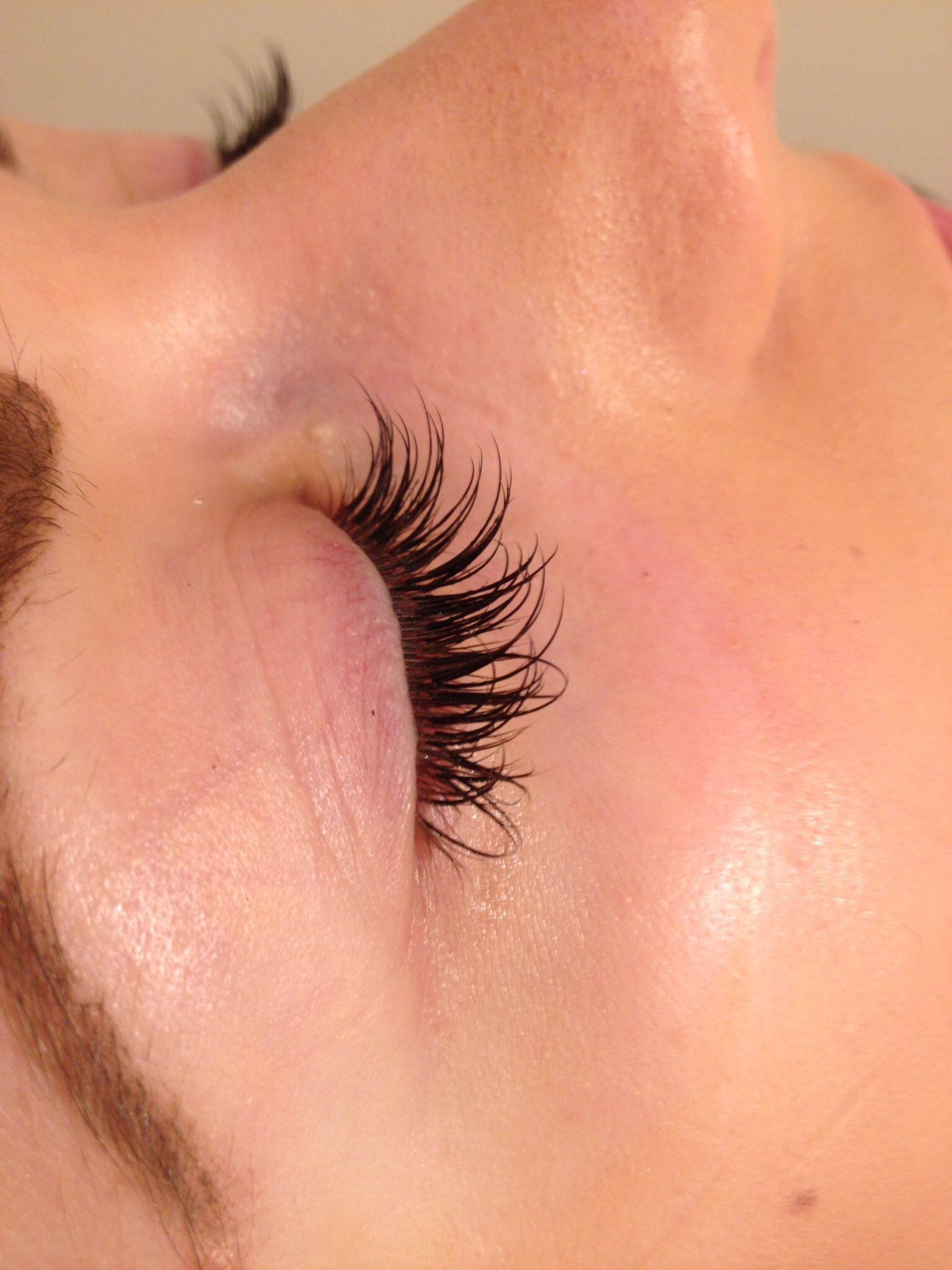 Nouveau lashes silk individual eyelash extensions ...