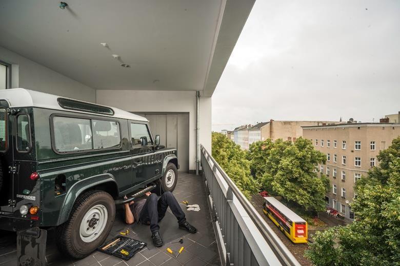 Carloft Berlin car loft kreuzberg garage ideas lofts and car garage