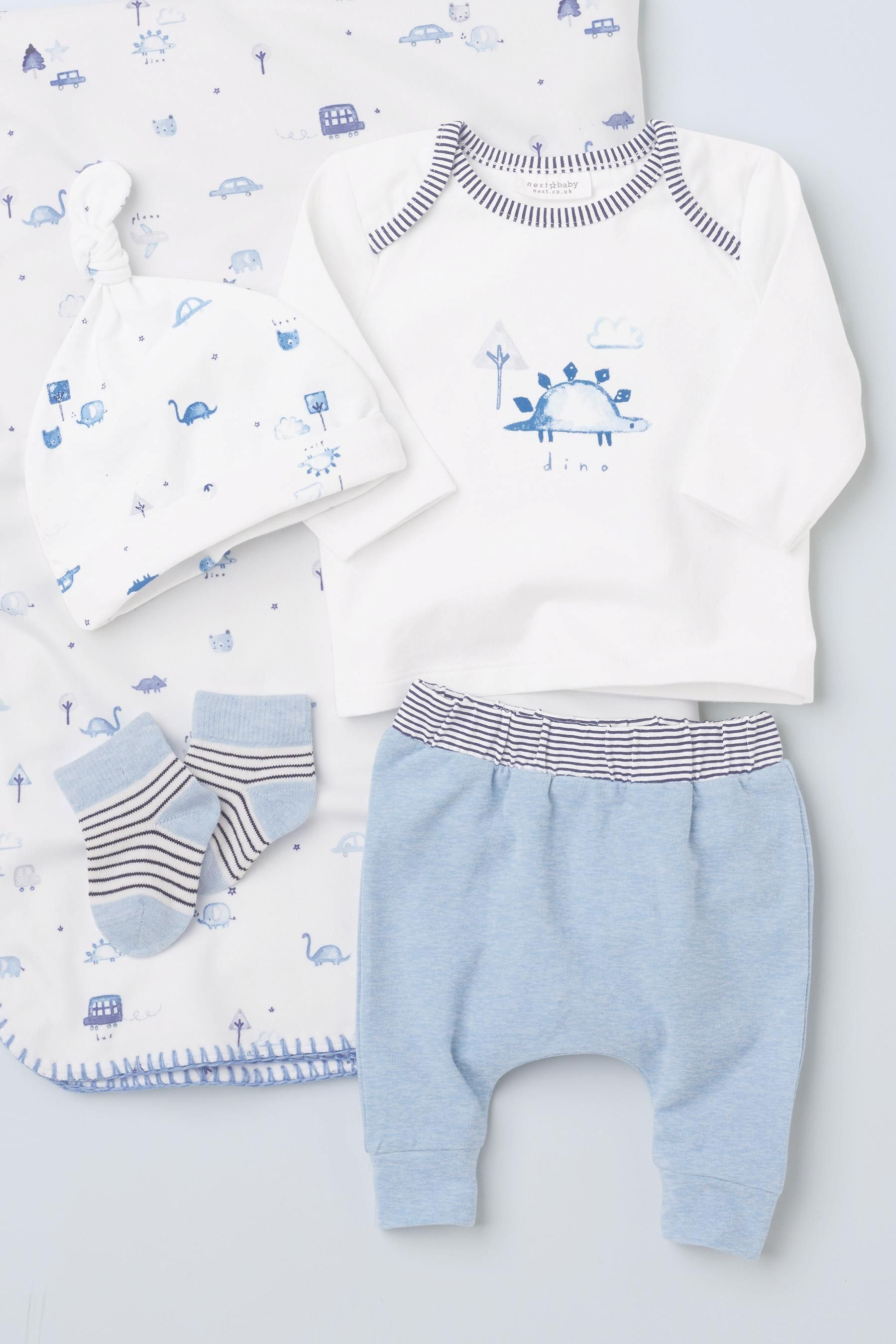 Newborn Babies Online Shopping Buy Blue Jersey Four Piece Set 0mths 2yrs From The Next Uk