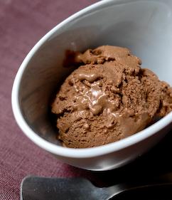 Παγωμένο γιαούρτι με σοκολάτα!