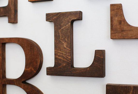 Vintage Wall Letters Wooden Letter Decor Gallery Wall Letters Wooden Wall Letters Letter Wall Decor Gallery Wall Letters