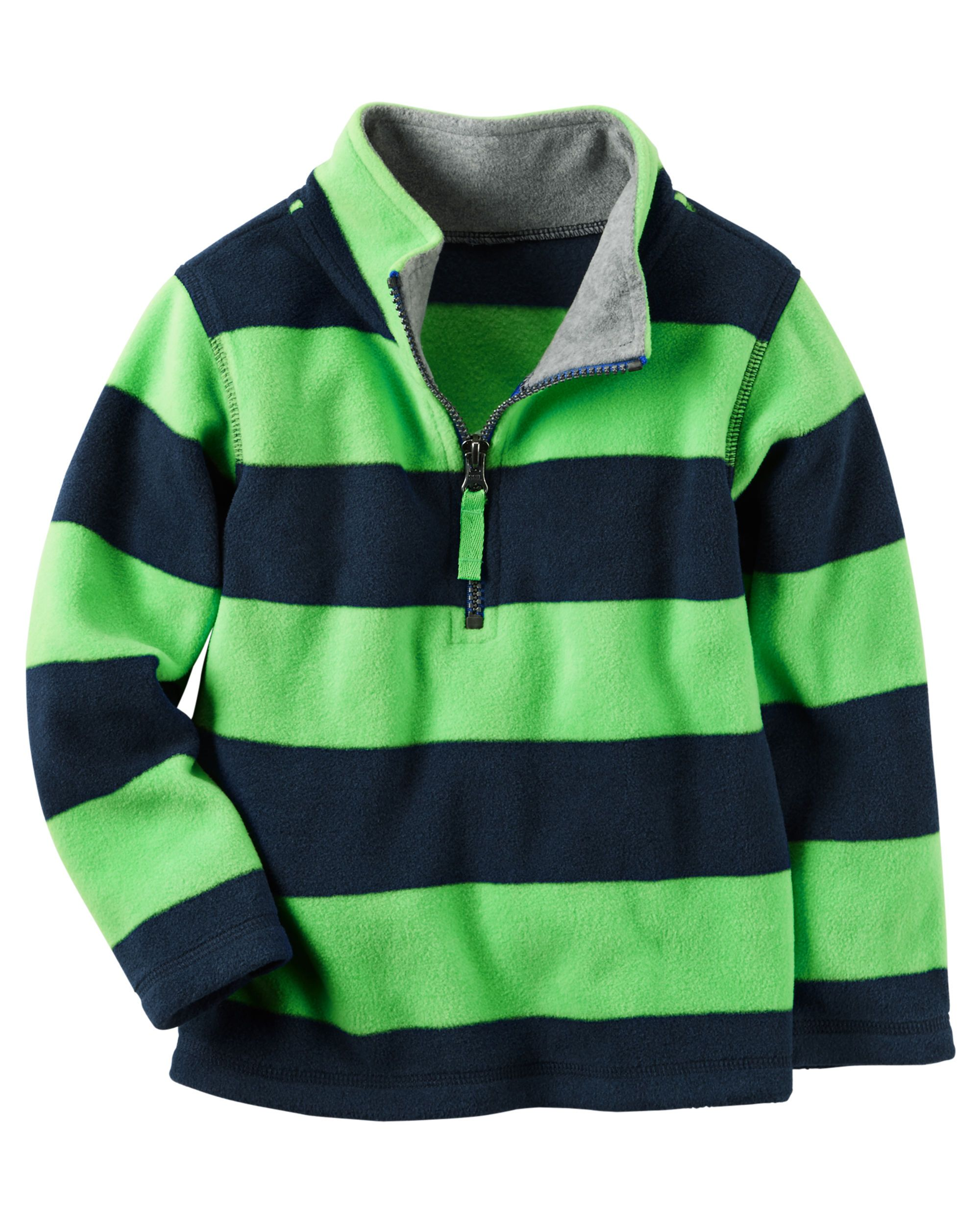Half-Zip Heavyweight Fleece Pullover | Toddler boys, Pullover and ...