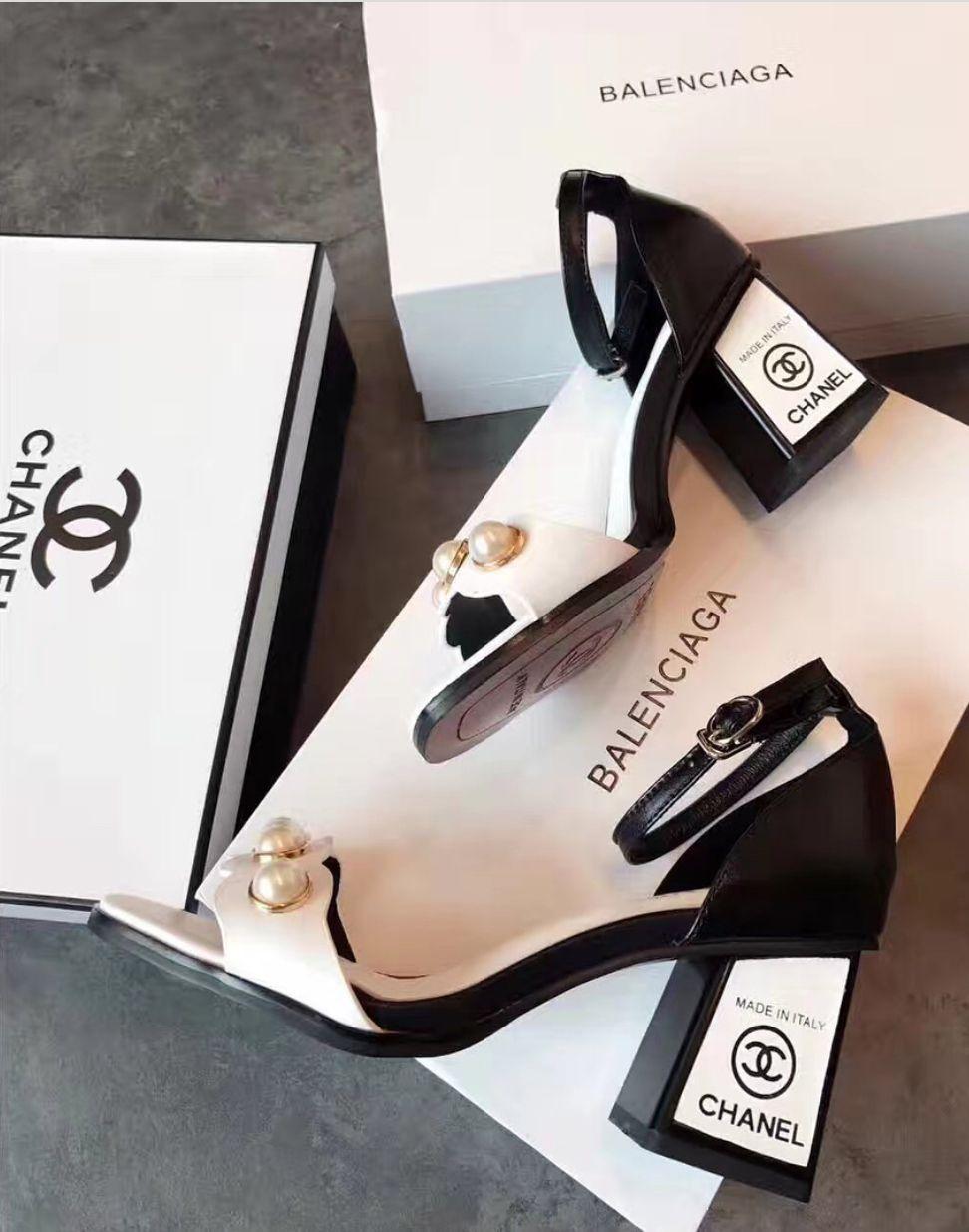 Chanel | Fashion shoes, Heels, Shoes