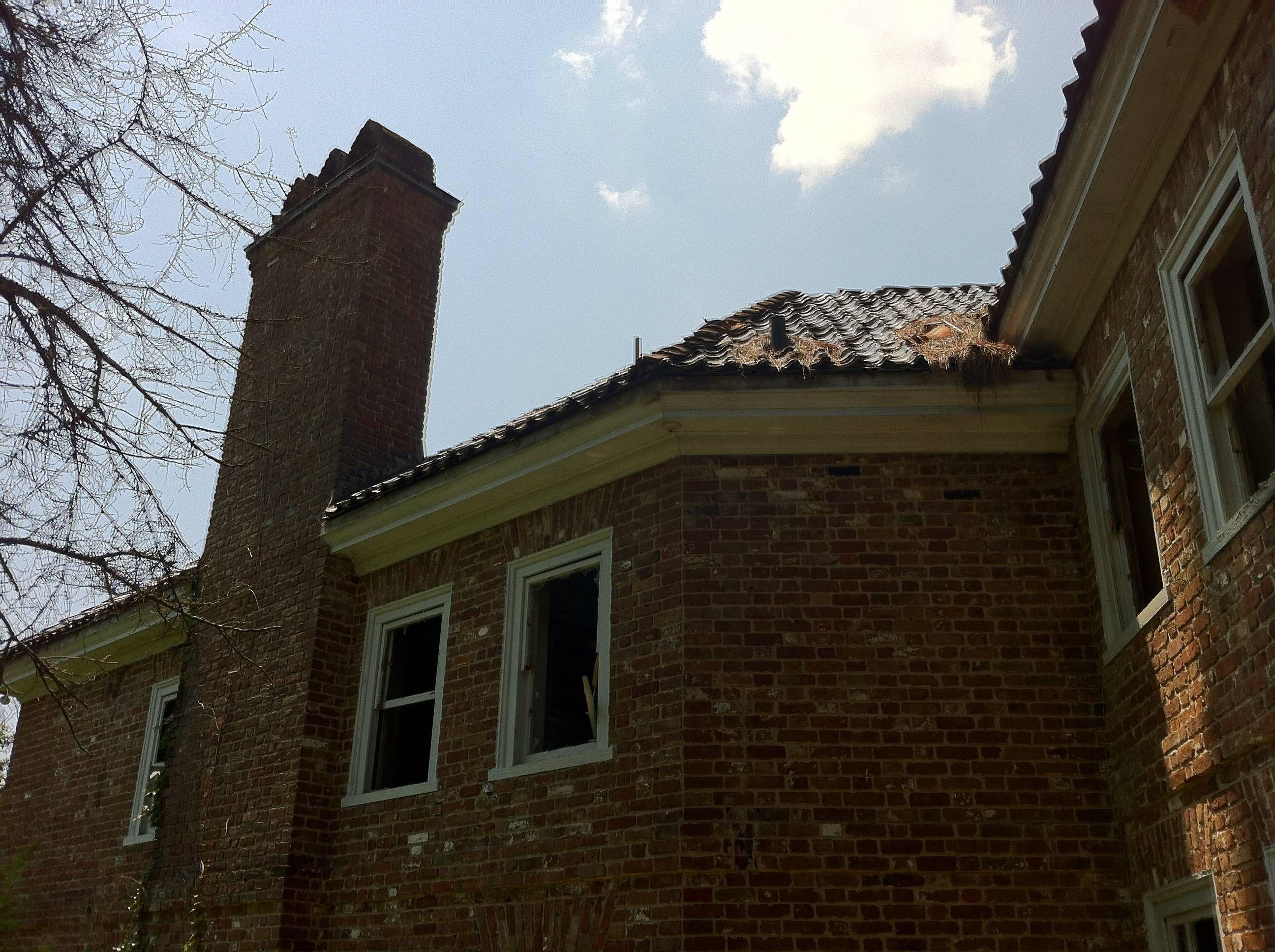 Abandoned Rockefeller mansion in Overhills, NC
