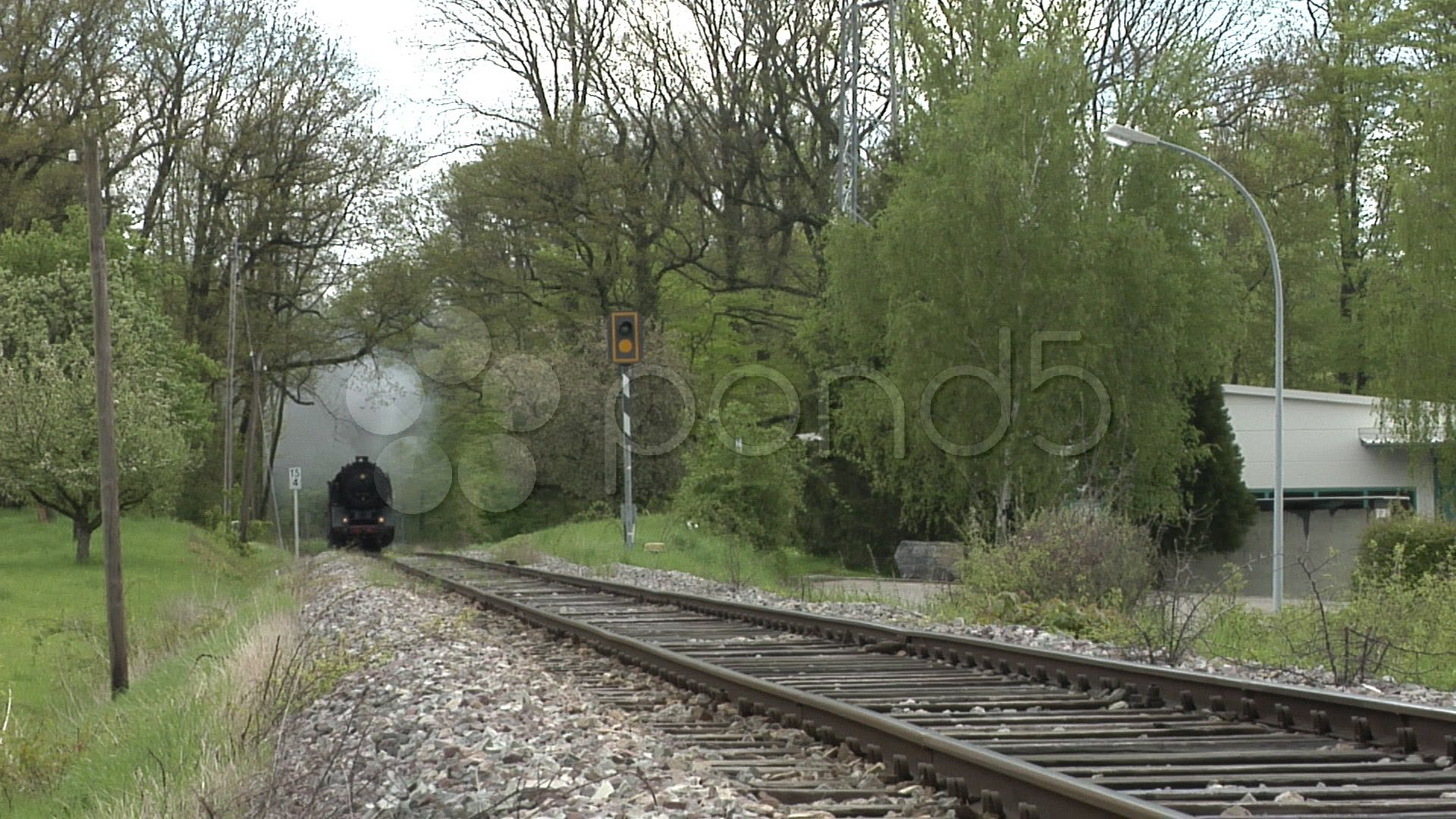 HD - $65 - Steam train coming - Stock Footage | by varius