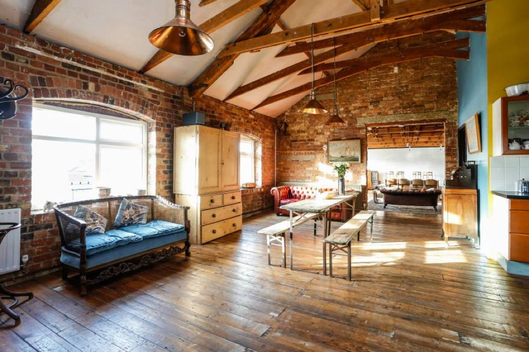 A Stunning Warehouse Loft Apartment In Central London