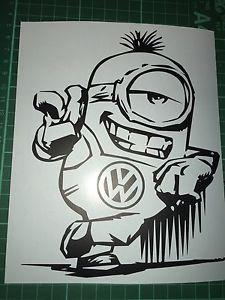 Car//Van//Camper//Bike//Laptop Decal Sticker Vinyl Graphic VW Dub Revolution