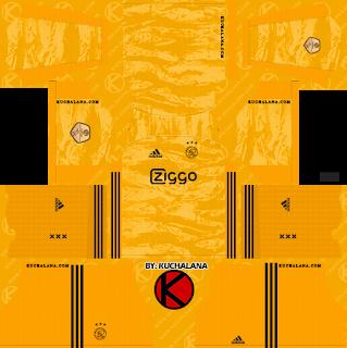 Afc Ajax 2019 2020 Kit Dream League Soccer Kits Leicester City Soccer Kits Afc Ajax