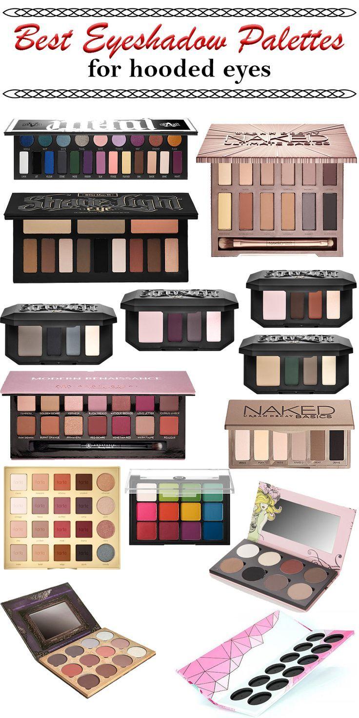 Best Eyeshadow Palettes for Hooded Eyes Best eyeshadow
