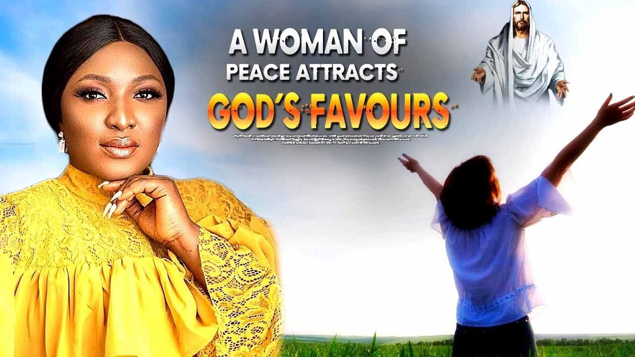 A Woman Of Peace Attracts God S Favours New Nigerian Christian Mov Christian Movies African Movies Romantic Movies