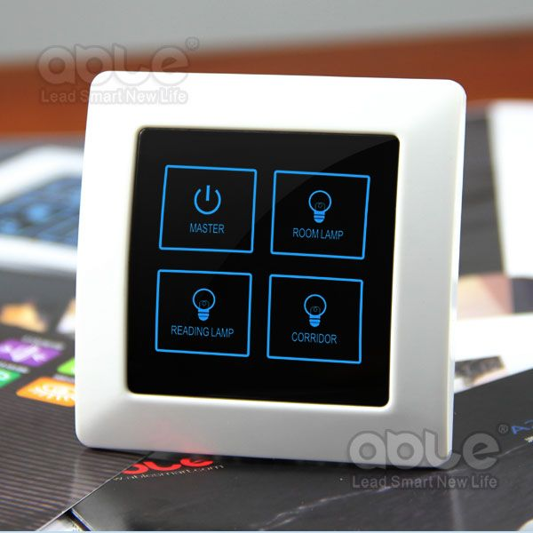 Home Automation Touch Sensitive Switch,Intelligent Power Switch ...