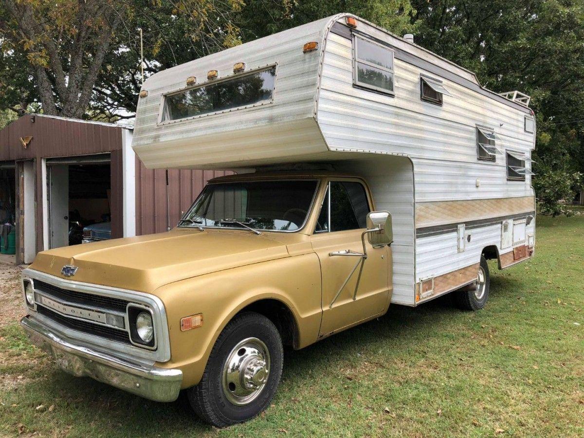 Retro Camper: 9 Chevrolet C-9 Camper  Pickup campers for sale