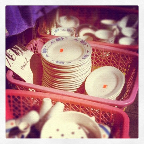 one dollar plates // Vancouver // Chinatown