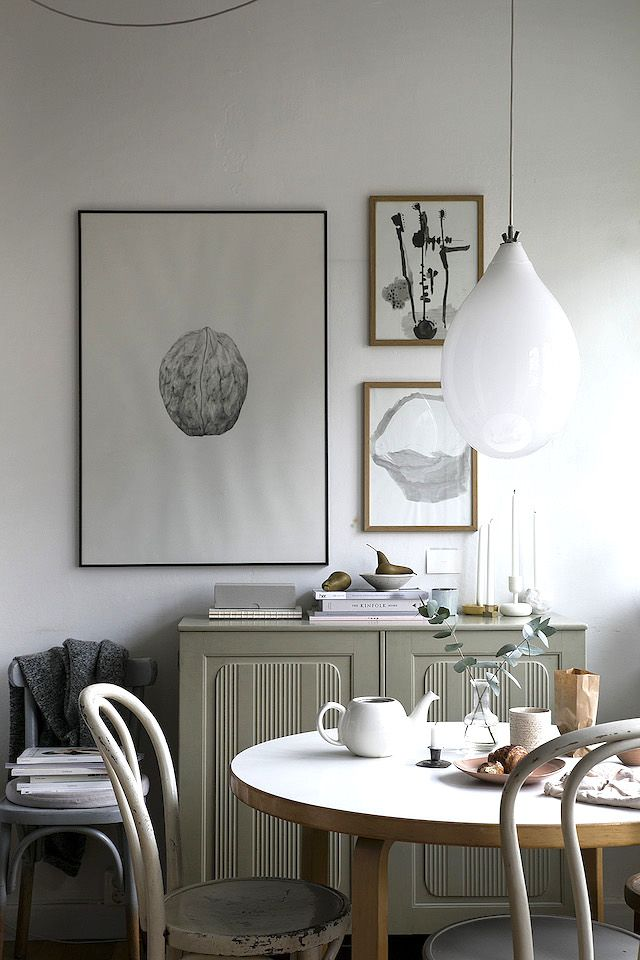 Scandinavian Small House Design: Lovely Small Scandinavian Home With Stylish Details
