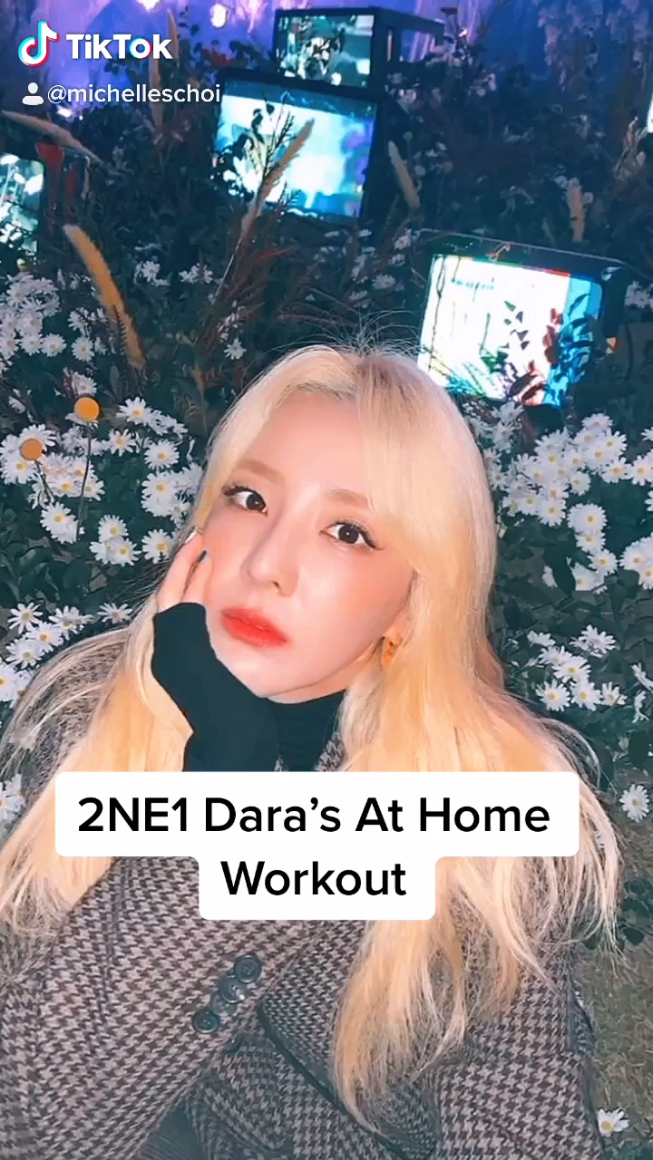 2NE1 DARA'S Workout!