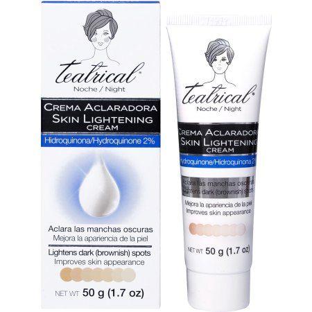 Teatrical Skin Lightening Cream 1 7 Oz Skin Lightening Cream Lightening Creams Skin Bleaching