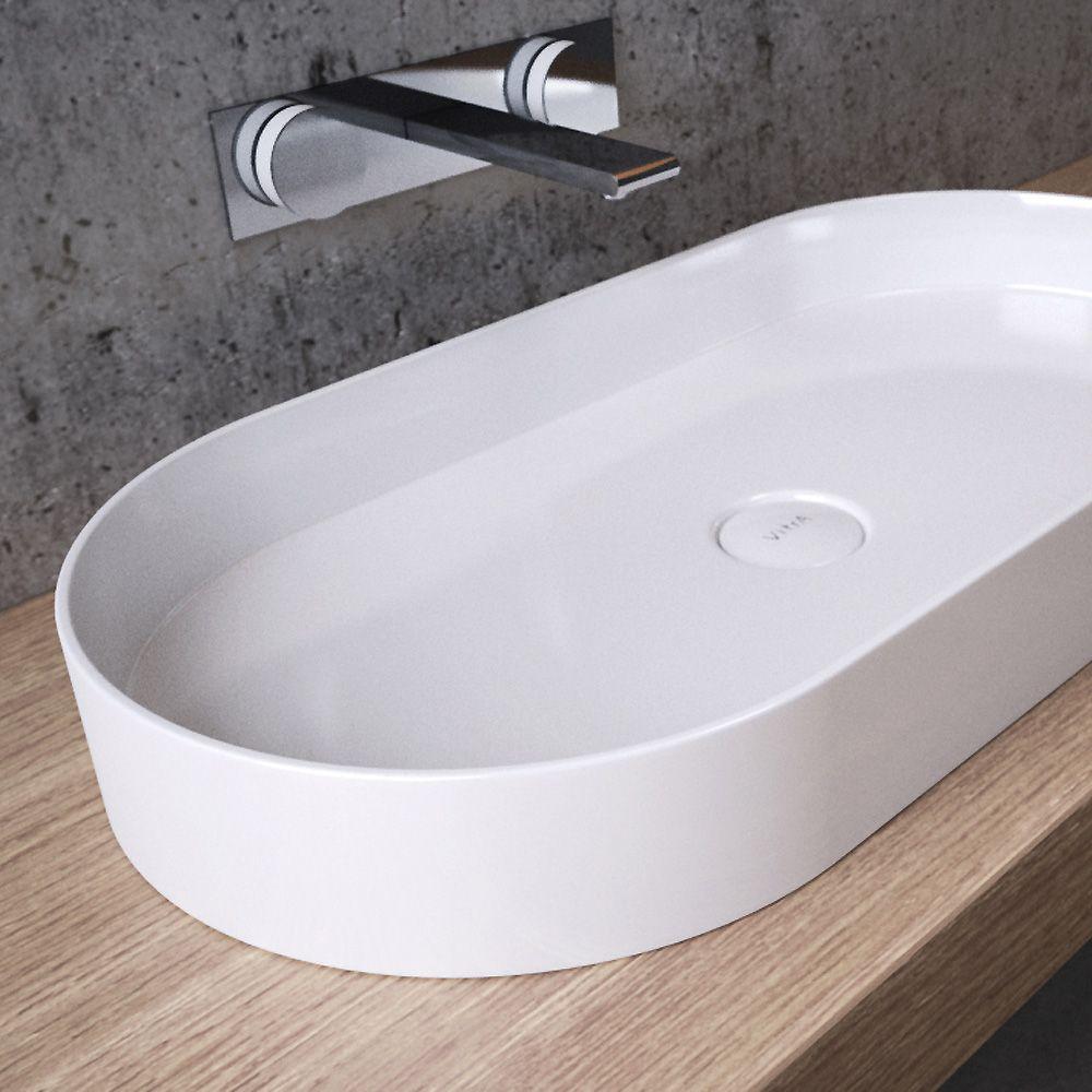 vitra options memoria aufsatzwaschtisch b 80 t 40 cm oval 89004 reuter onlineshop arch. Black Bedroom Furniture Sets. Home Design Ideas