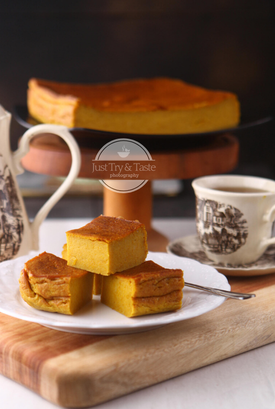 Bingka Labu Kuning Pumpkin Bingka Makanan Dan Minuman Kue Lezat Resep Labu Kuning