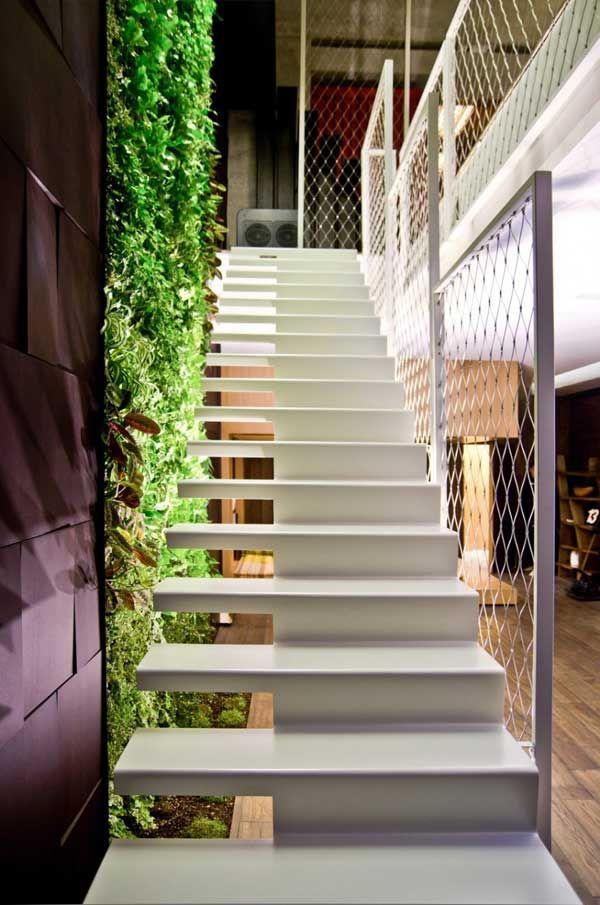 Diseño de Interiores  Arquitectura Ultra-Fabuloso Ático en Ucrania - diseo de escaleras interiores