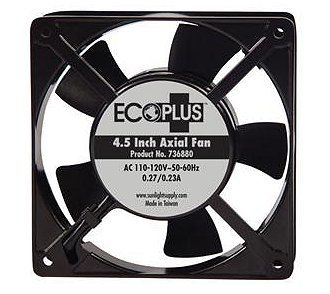 Eco Plus 4 5 Axial Aquarium Fan 112 Cfm Http Www Aquacave Com