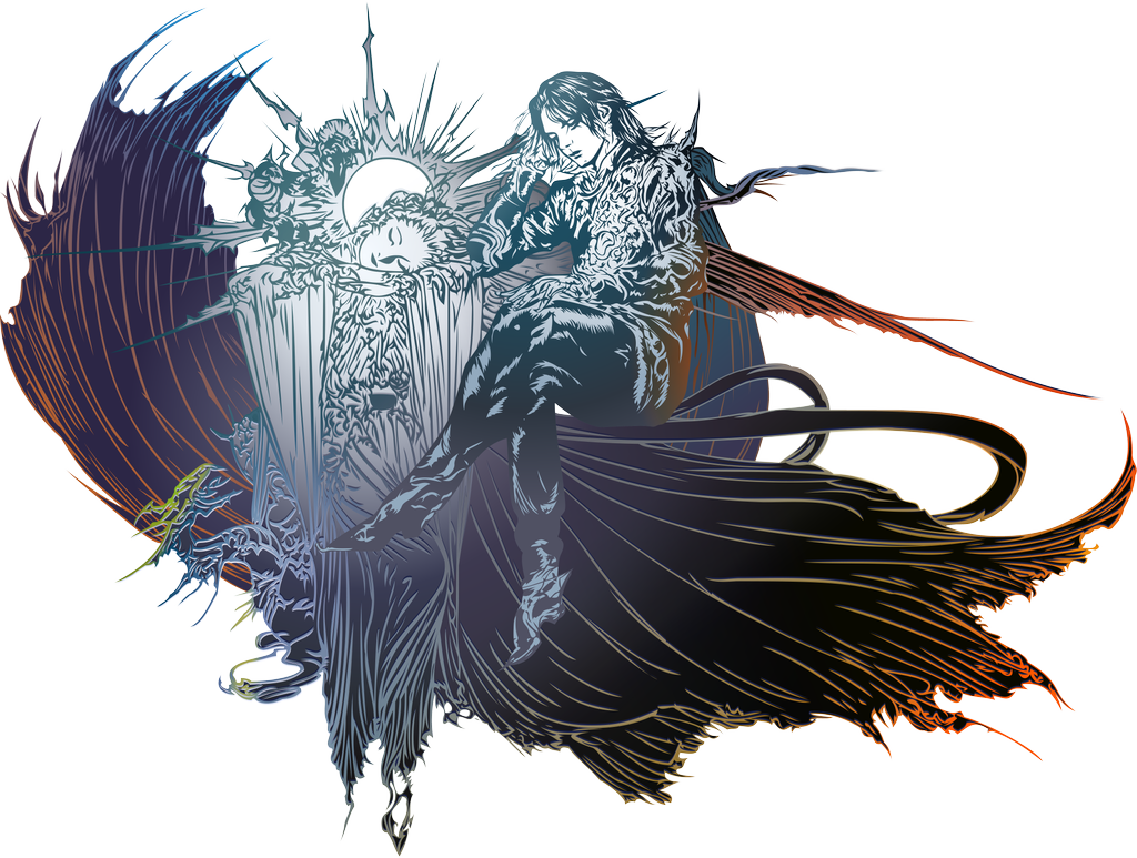 Final Fantasy XV logo POSTCREDITS by eldi13 on