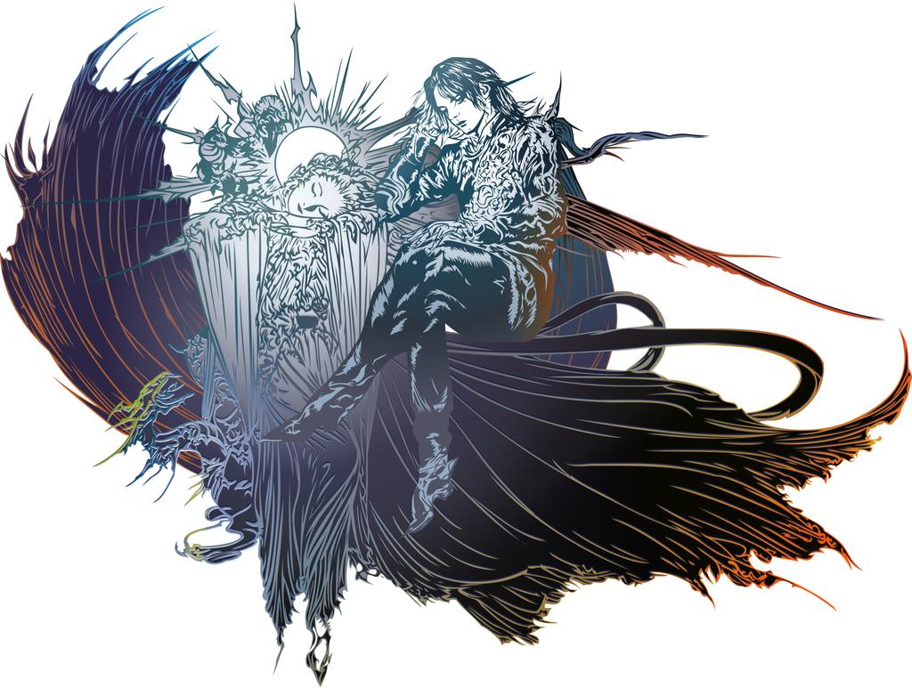 Final Fantasy XV logo POSTCREDITS by eldi13 on