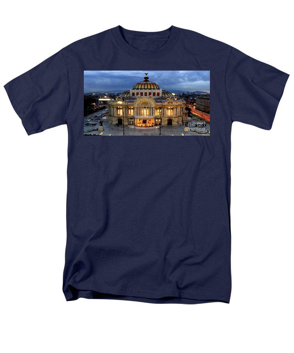 Men's T-Shirt (Regular Fit) - Palacio De Bellas Artes Mexico