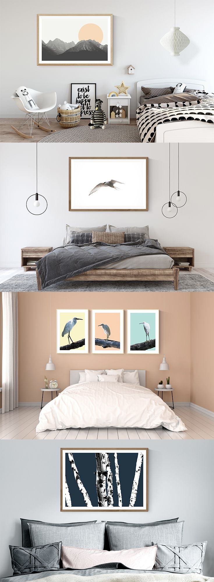 A Beautiful Print Can Help To Anchor The Decor In Any Room In Your Home If You Are Looking For Master Bedroom Art In 2020 Master Bedroom Art Bedroom Wall Bedroom Art
