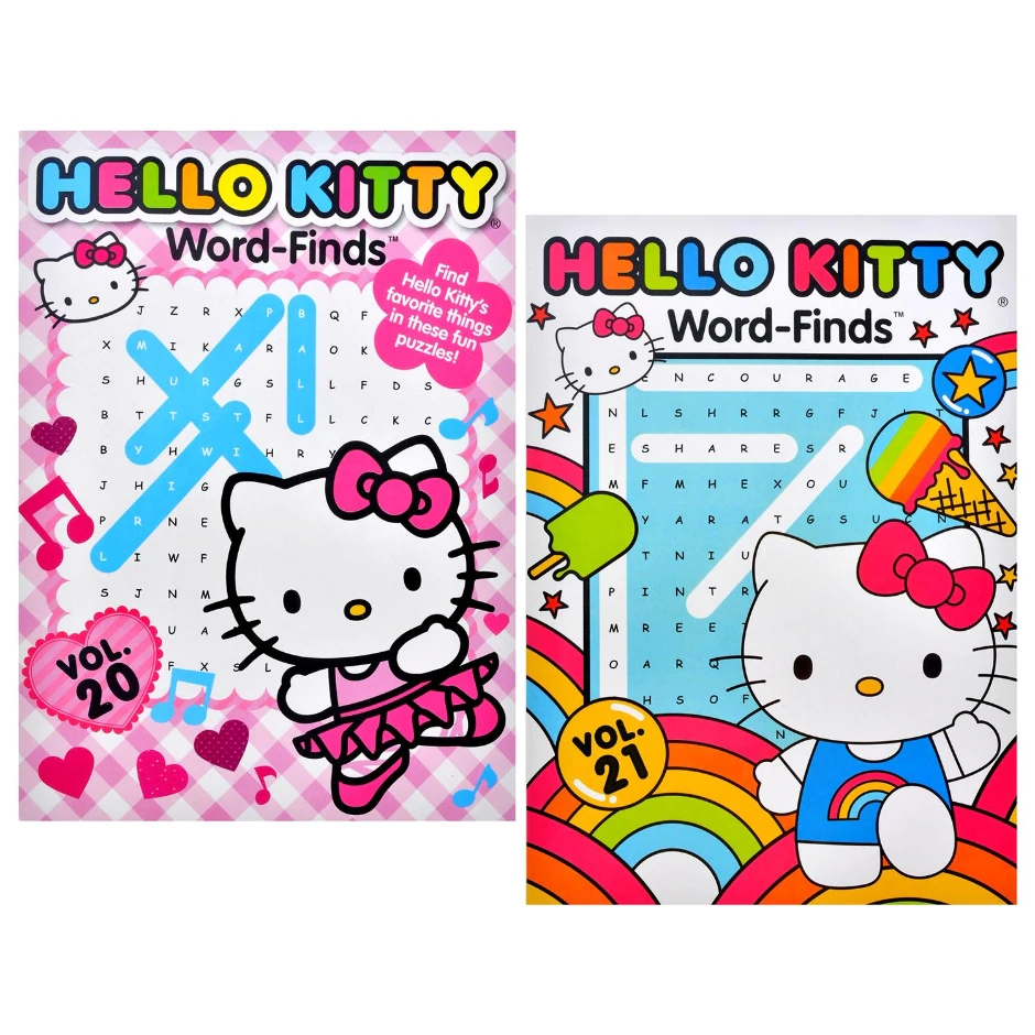 View Hello Kitty Word Find Puzzle Hello Kitty Coloring Book Set Word Find