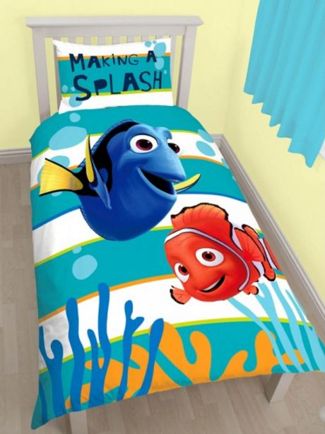 d471e0d73ac ΠΑΙΔΙΚΟ ΔΩΜΑΤΙΟ - Παπλωματοθήκες - Κουρτίνες :: Παιδικές Παπλωματοθήκες ::  Παιδική Παπλωματοθήκη Finding Nemo - Ψάχνοντας τον Νέμο Μονή Σετ  Αναστρέψιμη