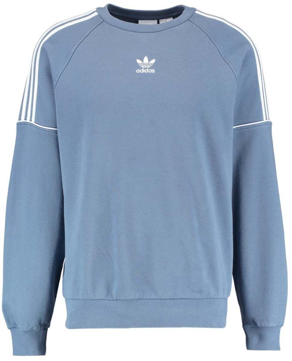 adidas Originals PIPE CREW Sweatshirt raw steelwhite
