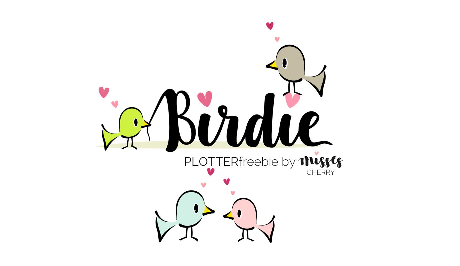 Birdie Plotterdatei, Plotten, Schablonen