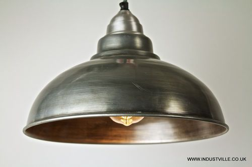 Black Vintage Old Factory Metal Lamp Shade Restaurant Pendant Light Ebay