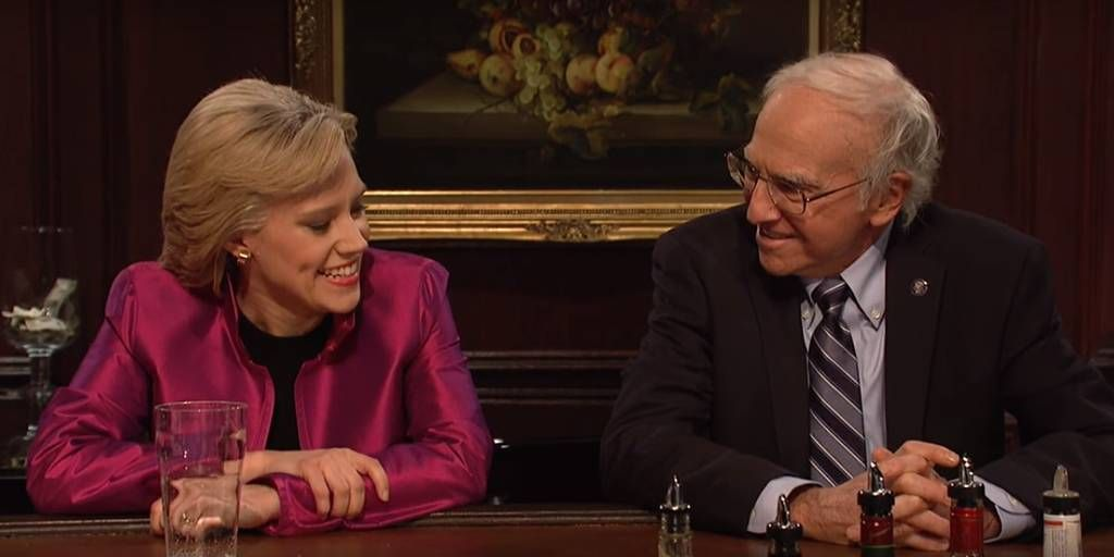 Saturday Night Live bids farewell to its 41st season with a Hillary/Bernie cold open