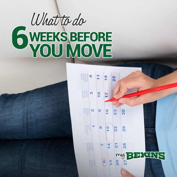 With so many things to do before moving, thinking about it all can get very overwhelming. To stay on track before you move, you need to have a solid moving plan.