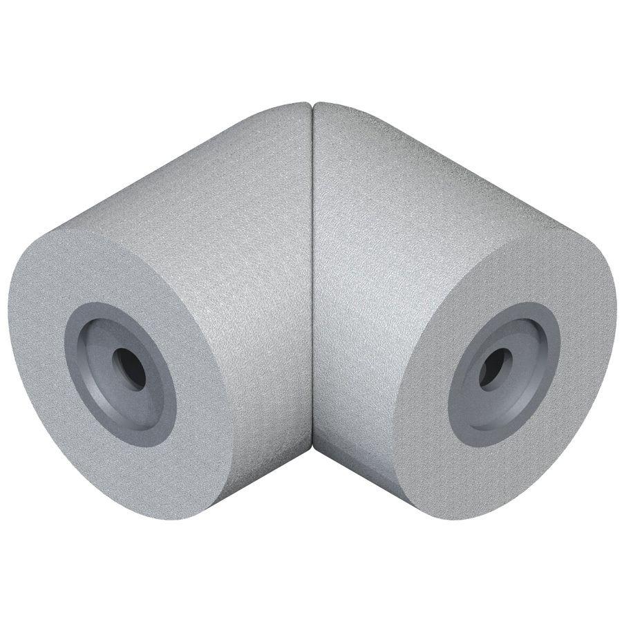 Best Dolle Powder Coated Gray Steel Elbow Handrail Brackets 640 x 480