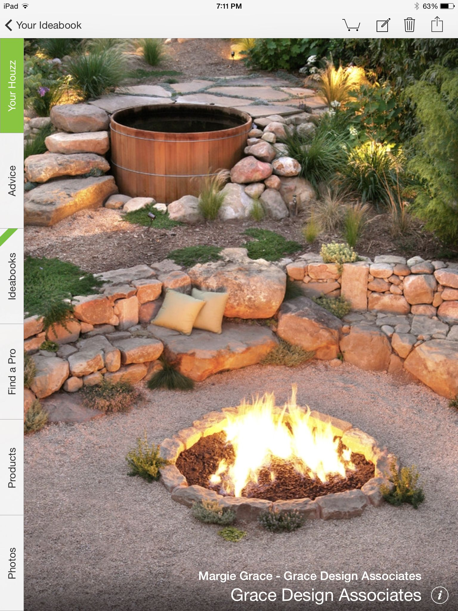 Pin By Lisa Ginestra On Backyard Hot Tub Garden Backyard