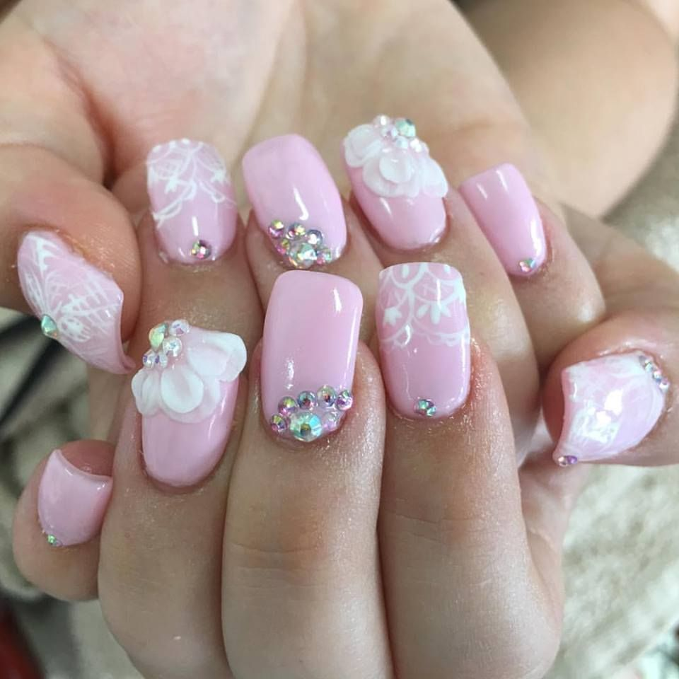 59 Unique Summer Wedding Nail Art Ideas To Make Your Nails Bridal-Ready