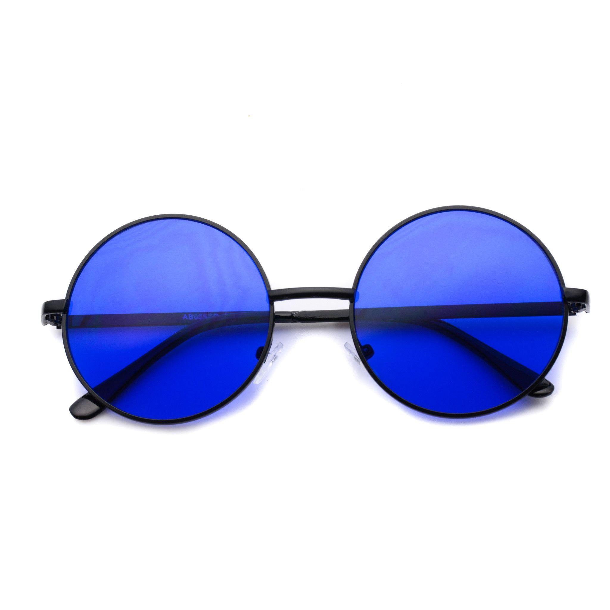 Payton Colorful Round Retro Sunglasses
