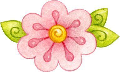 12 best Flores en Dibujo images on Pinterest  Clip art Flower