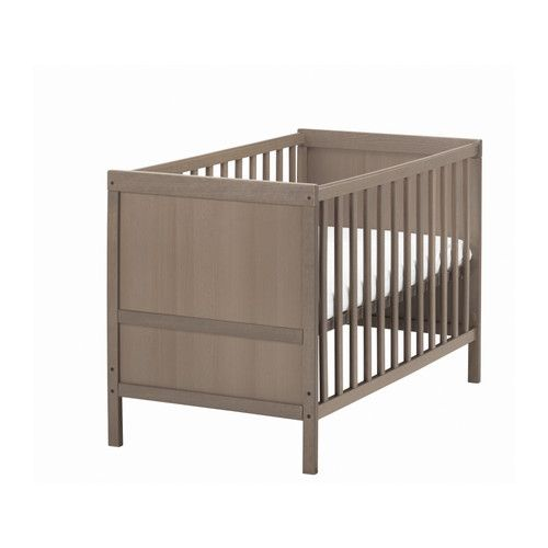 sundvik lit b b gris brun enfant pinterest lit junior ikea et r glable. Black Bedroom Furniture Sets. Home Design Ideas